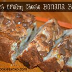 Reese's Cream Cheese Banana Bread