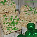 Rice Krispy Treats For St. Patrick's Day
