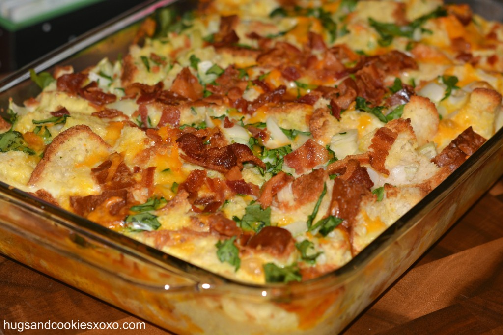 Brunch Egg Casserole Spinach Hash Brown Egg Ham Pictures to pin on ...