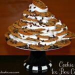 Chocolate Chip Cookie Ice Box Cake