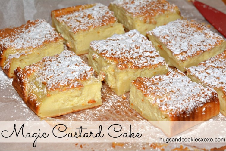 Apple Cake With Custard Filling