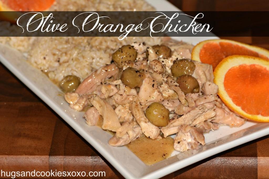 olive orange chicken