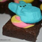 Peeps Brownies