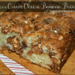Snickers Cream Cheese Banana Bread