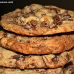 Chocolate Chip Cookies Stuffed With Brownie Chunks