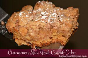 Cinnamon New York Crumb Cake