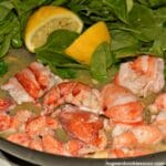 Lobster, With Butter, Wine and Lemon