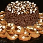 S'mores Triple Layer Cake, S'mores Cookies & S'mores Pops