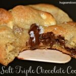 Triple Chocolate Sea Salt Cookies