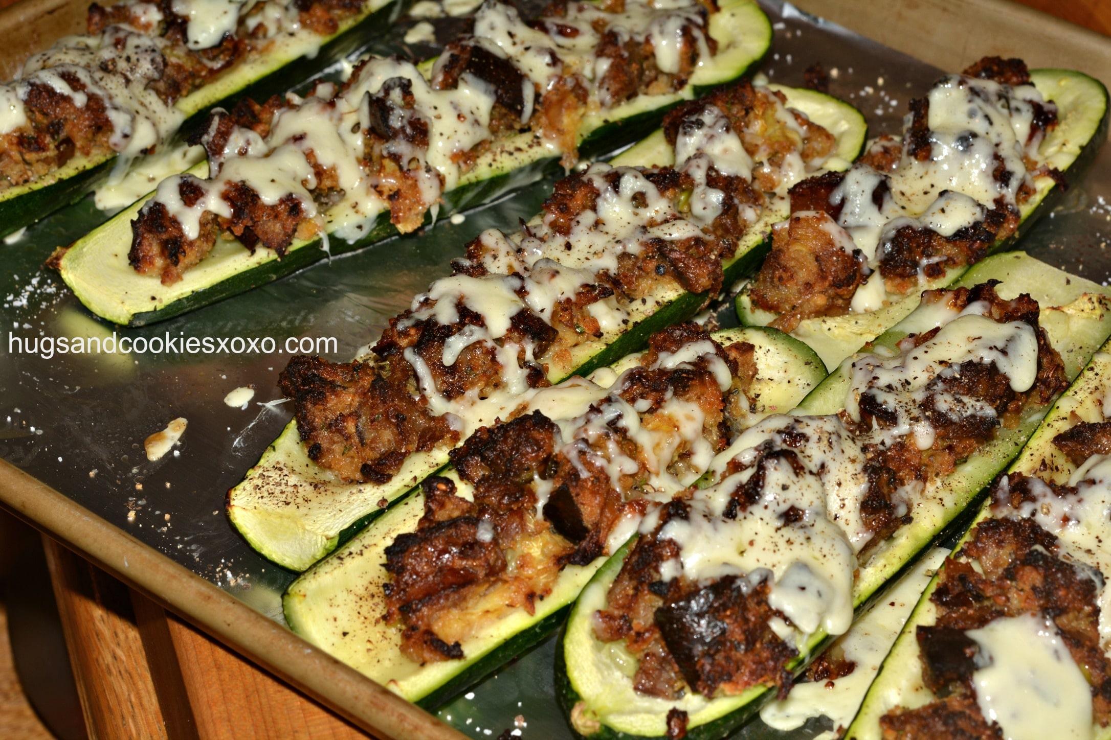 zucchini-sausage