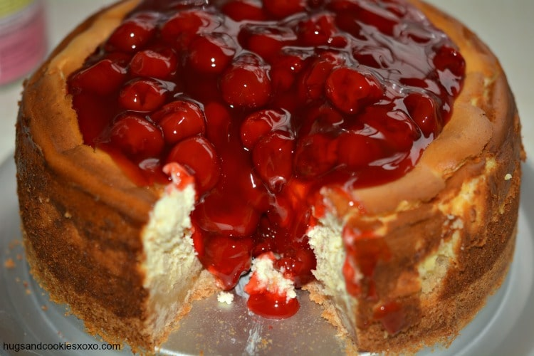 Cherry Cheesecake Recipe — Dishmaps