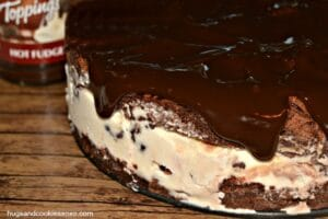 Brownie Hot Fudge Ice Cream Cake