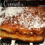 Chocolate Raspberry Cronut French Toast