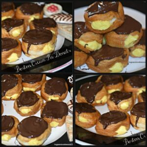Boston Cream Pie Donuts