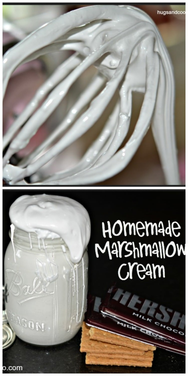 Homemade Marshmallow Fluff - Hugs and Cookies XOXO