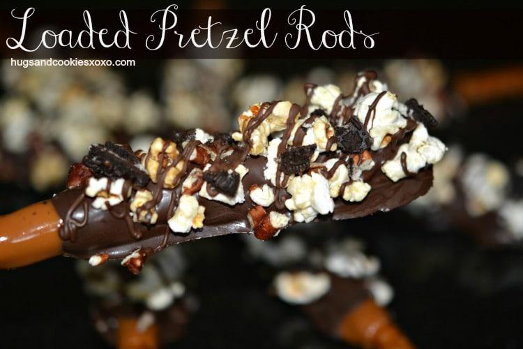 loaded pretzels