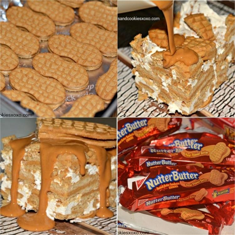 nutter butter freezer pie