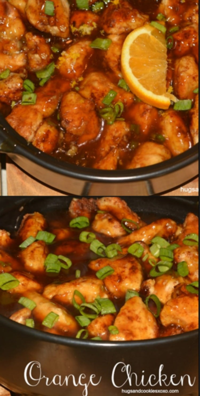 orange chicken chicken pan fried in coconut oil olive orange chicken 2 ...