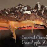 Chocolate Caramel Apple Slices