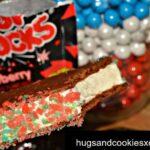 Pop Rocks Ice Cream Sandwiches