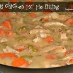 Chicken Pot Pie Filling