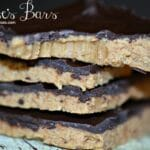 Homemade Reese's Bars