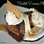 Copycat Cheesecake Factory Toasted S'mores Chocolate Cheesecake