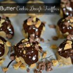 Brown Butter Cookie Dough Truffles