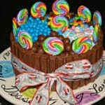 Candy Land Cake!