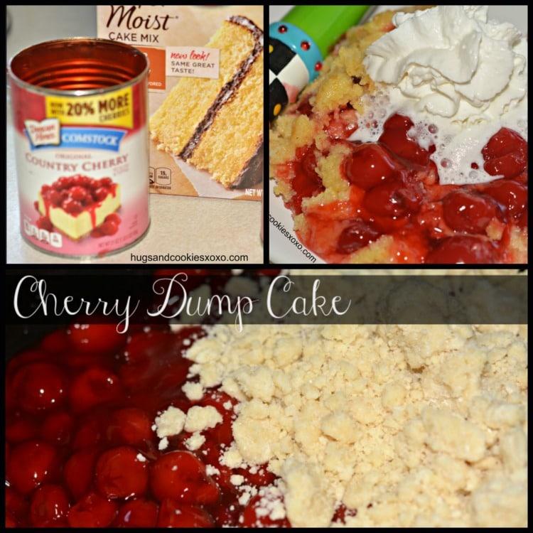 Slow Cooker Cherry Dump Cake Hugs And Cookies Xoxo