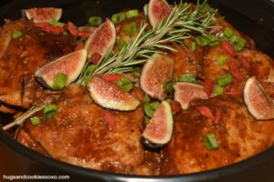 Slow Cooker Chicken With Figs