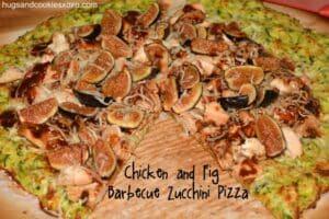 Cheesy Zucchini Pizza Crust