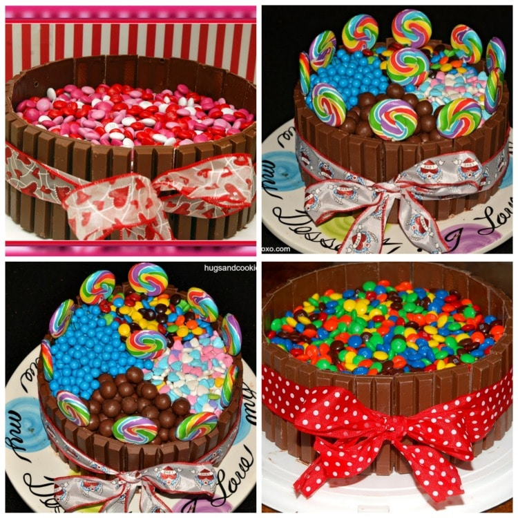 Cool Candy Land Cake Hugs And Cookies Xoxo Funny Birthday Cards Online Fluifree Goldxyz