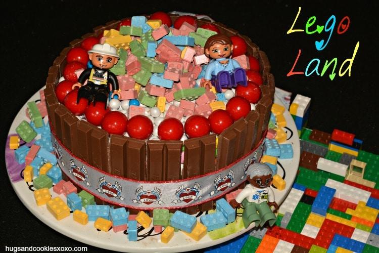 Lego Land Cake