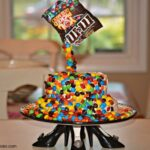 Magic M & M Brownie Cake