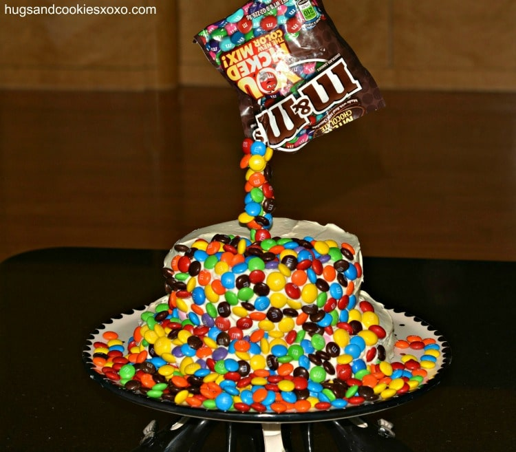 Magic M Amp M Brownie Cake Hugs And Cookies Xoxo