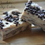 White Chocolate No Bake Oreo Fudge Cookie Bars