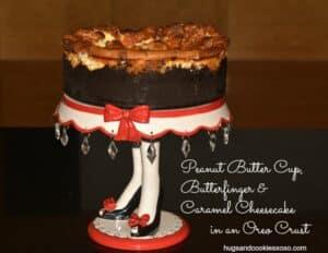 Reese's, Butterfinger & Caramel Cheesecake
