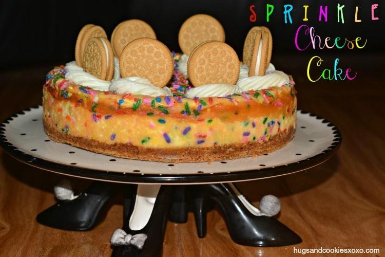 sprinkle cheese cake