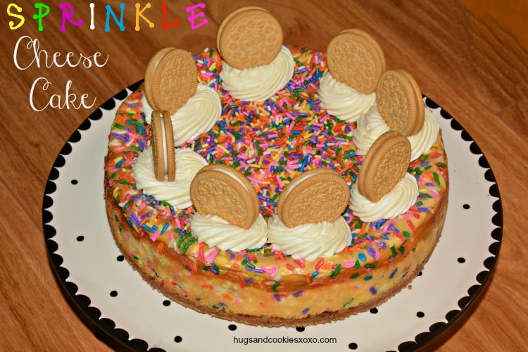 cheese and sprinkles