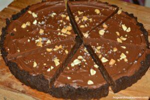 Chocolate Peanut Butter Oreo Tart