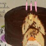 Orange Chocolate Chunk Layer Cake