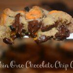 Pumpkin Oreo Chocolate Chip Cookies