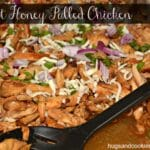 Apricot Honey Pulled Chicken