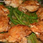 Roasted Chicken With Mustard Sauce