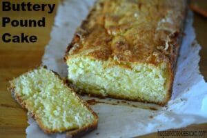 The Ultimate Buttery Pound Cake