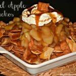 Caramel Apple Pie Nachos