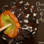 Chocolate Caramel Oreo Apples