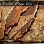 Almond Praline Brittle Bark