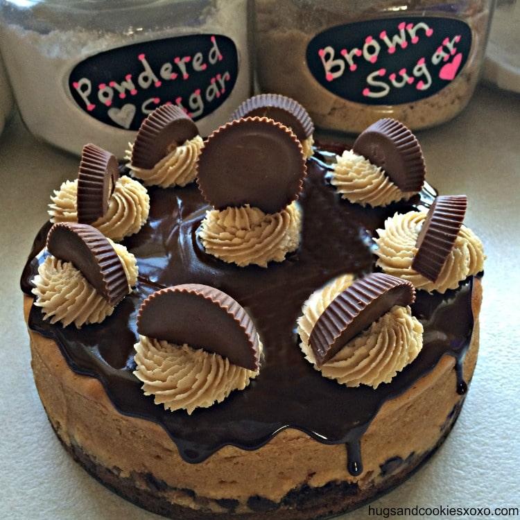 reeses cake cheesecake